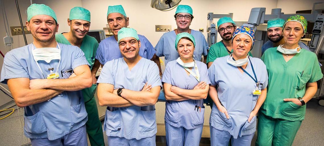 controllo alla prostata italian